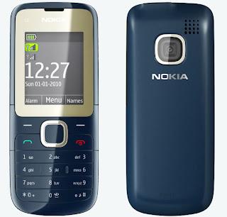 nokia c2 00 mobile blue Nokia 7210c