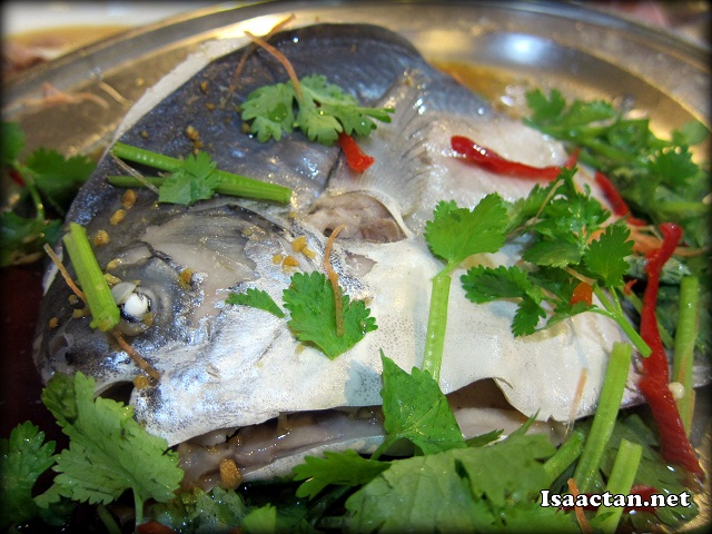 Steamed fish in Teo Chew style - RM60