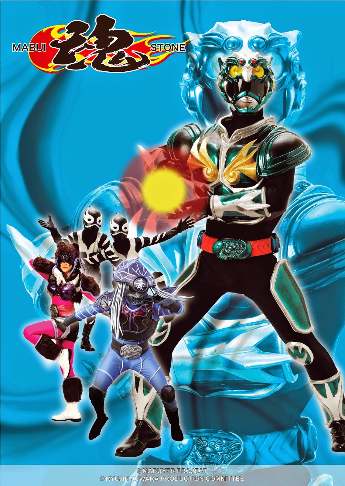 "First Ever Japanese-Malaysian Superhero Drama Series "" Ryurin Juwara "" on TV3, every Friday at 7.30pm"