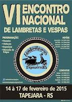 VI Encontro Nacional de Lambrettas e Vespas