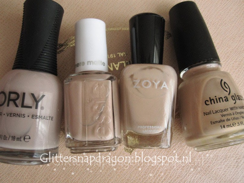 Orly Dare to Bare Essie All Eyes on Nudes Zoya Avery China Glaze II