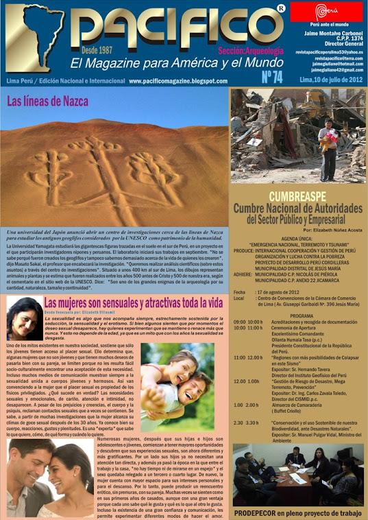Revista Pacífico Nº 74 Arqueología