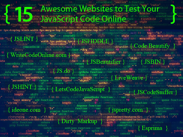 Websites to Test Your JavaScript Code Online