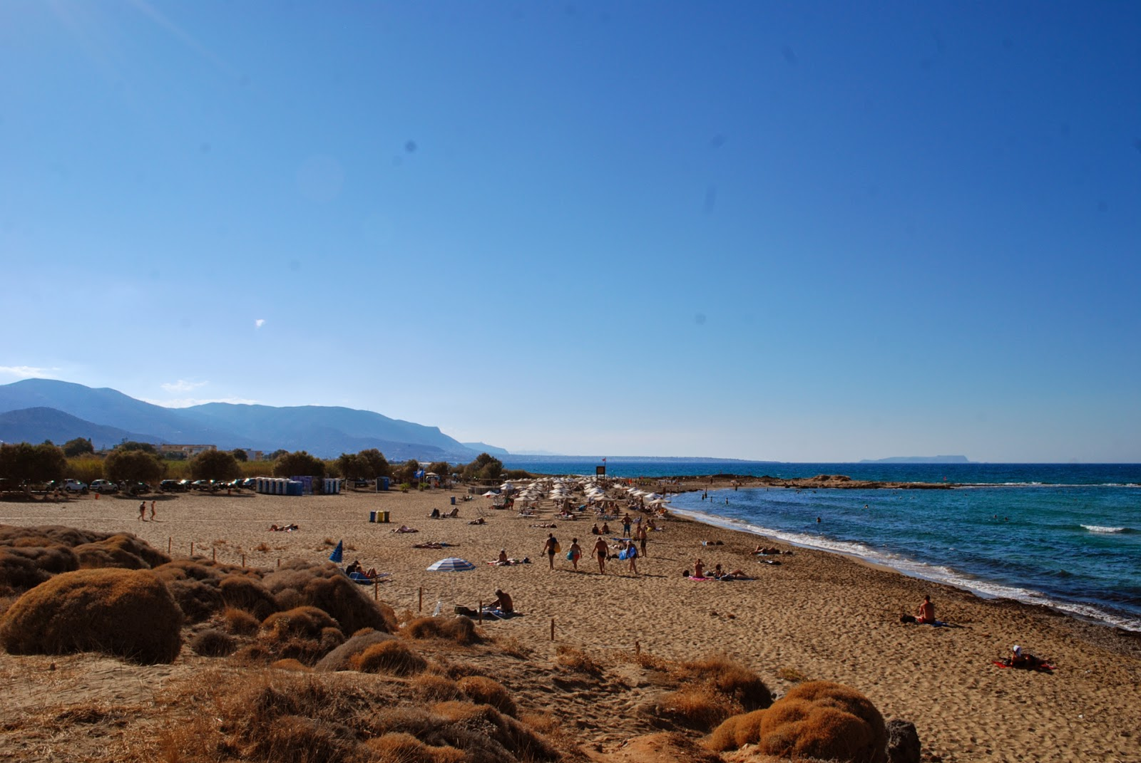 """""""Дикие"""" пляжи за Малией, Крит, Греция."""