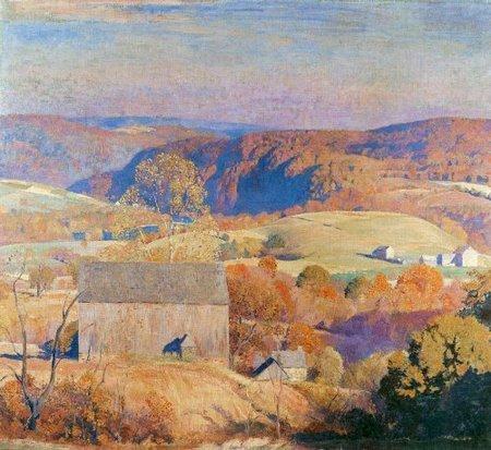 Daniel Garber 1880-1958 | American Impressionist painter