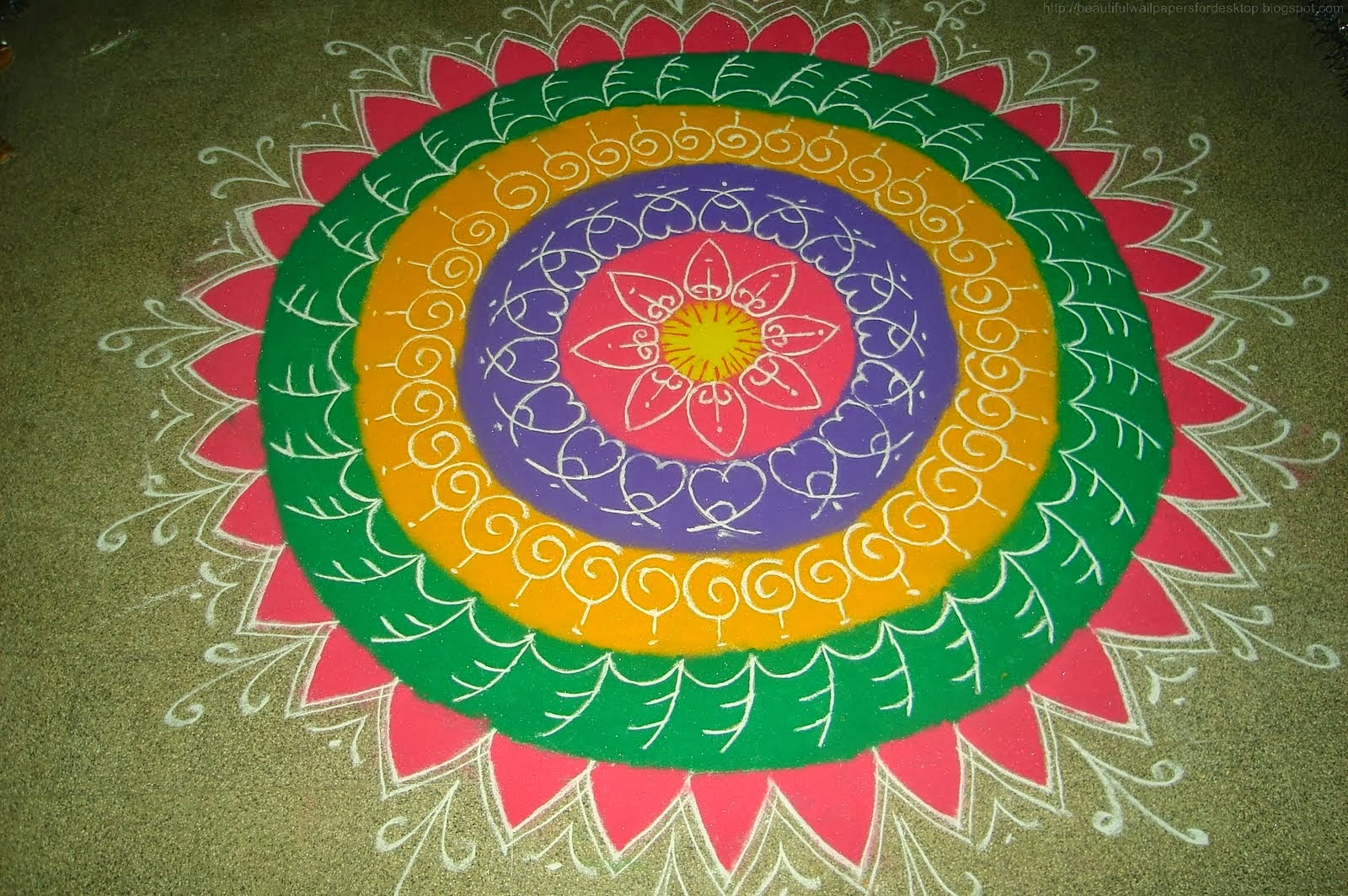 rangoli designs wallpaper stars - photo #28