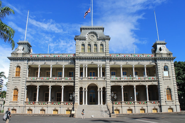 Iolani Palace | Honolulu, Hawaii