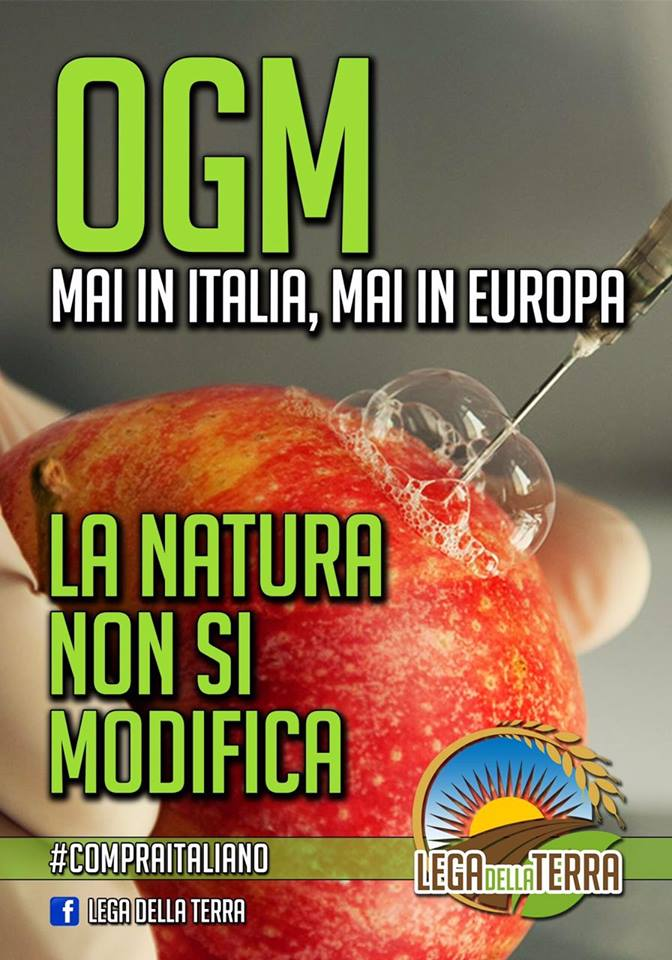 OGM mai in Italia!