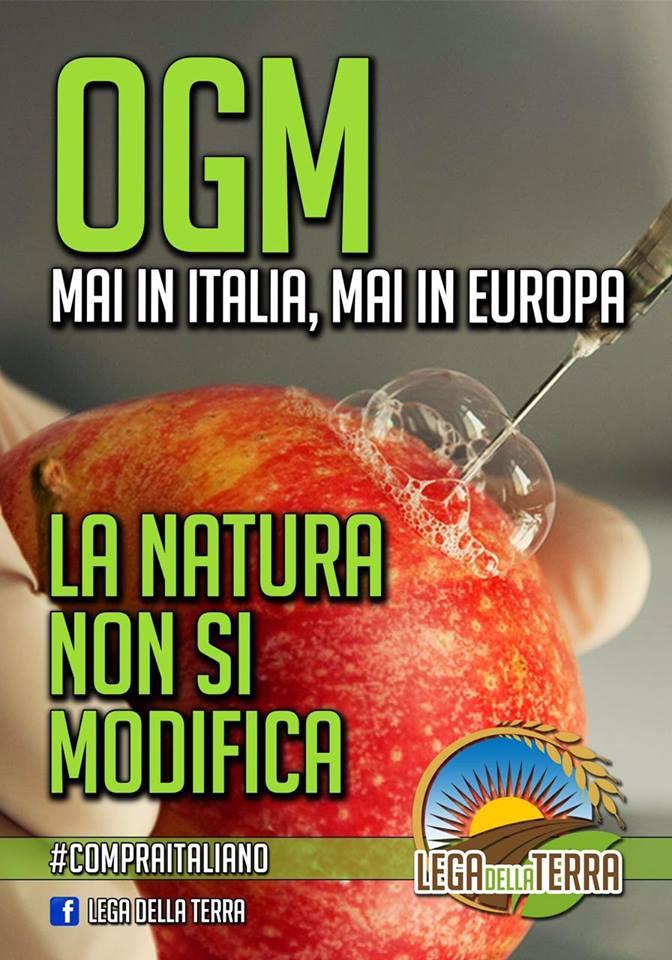 OGM mai in Italia!