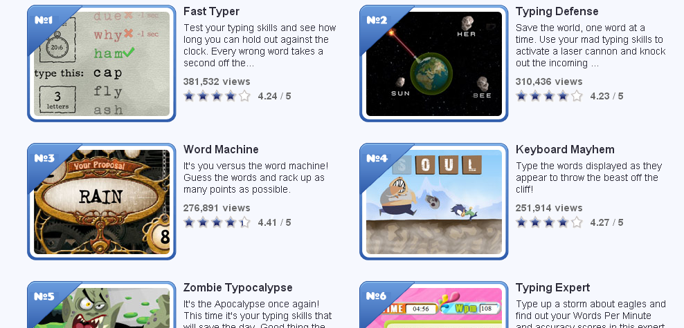 What's the best site to learn how to type fast? : IWantToLearn