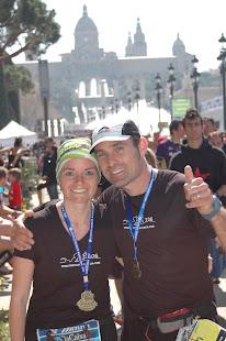 Maratón de Barcelona 2012