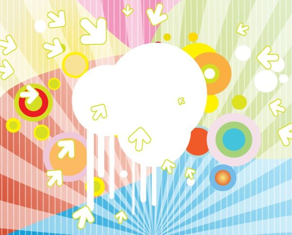 Free Vector Direction Theme Background
