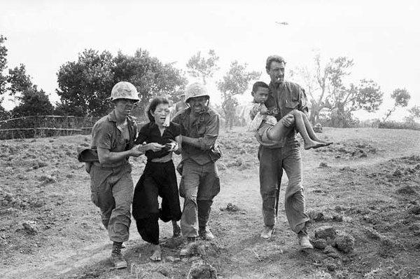 American Soldiers during Vietnam War