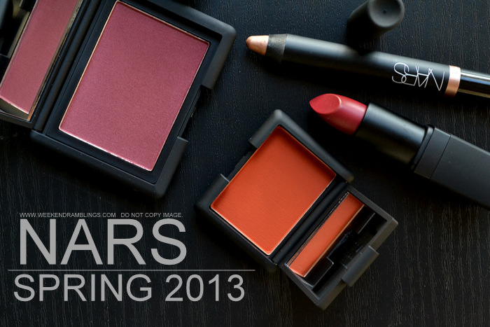 NARS Spring 2013 Makeup Collection Indian Beauty Blog Darker Skin Swatches Photos