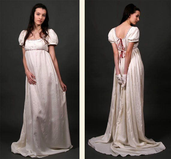 Regency Wedding Dress - Affordable Wedding Dresses: Regency