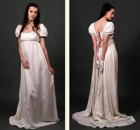 Regency Wedding Dress - Affordable Wedding Dresses: Regency