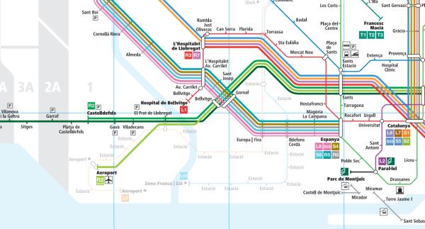 Rozkład jazdy pociągów z Barcelony do Sitges