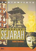 toko buku rahma: buku METODOLOGI SEJARAH, pengarang kuntowijoyo, penerbit tiara wacana