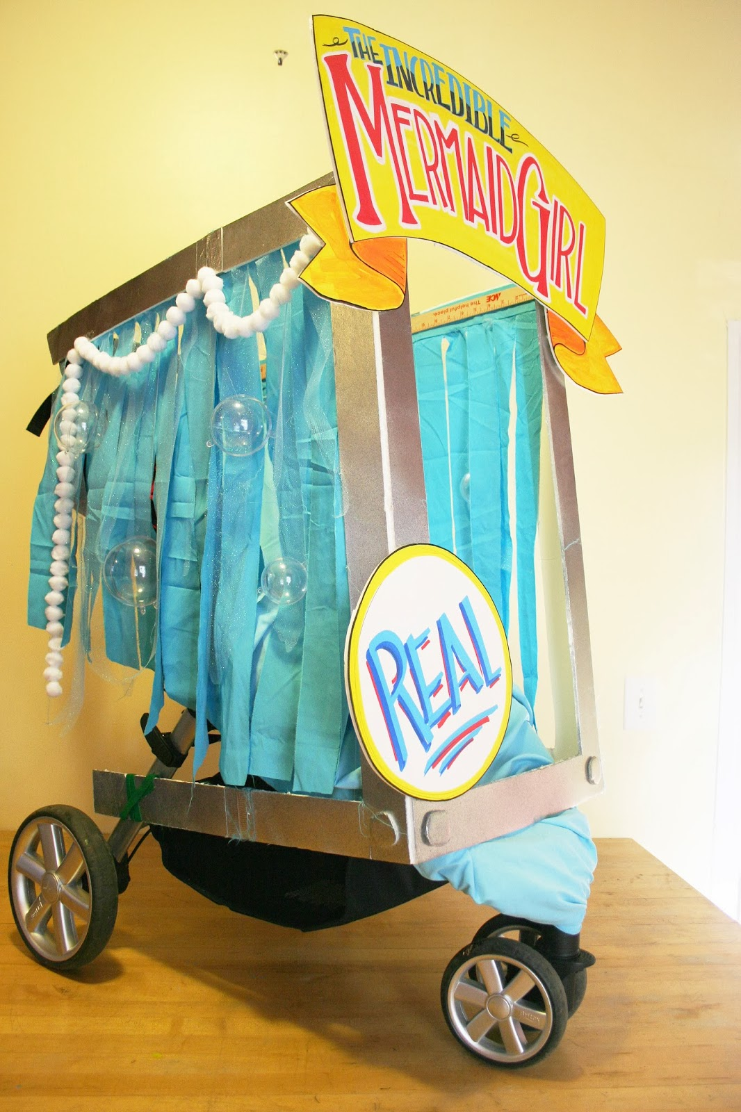How to decorate a stroller 35