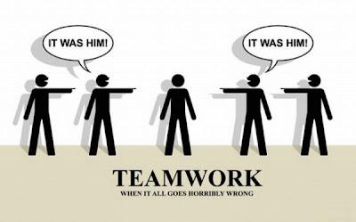 Teamwork Er war's