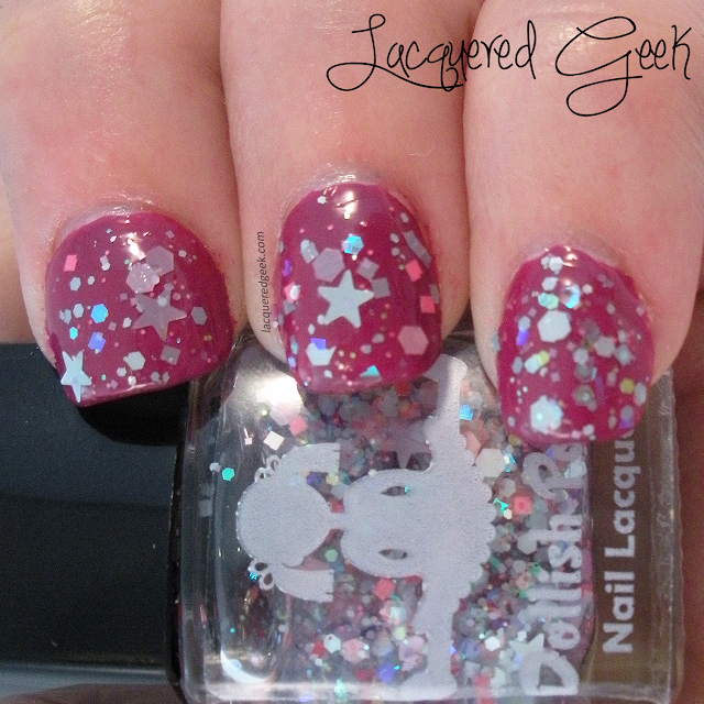 Care Bear Stare from Dollish Polish swatch