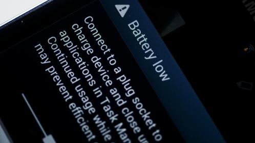 Membiarkan Baterai Android Sampai Kosong/Ngedrop