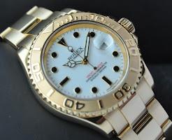 Rolex Yacht Master Gold