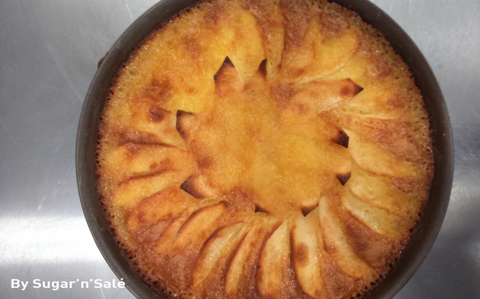 G teau moelleux et fondant aux pommes tr s facile faire sugar 39 n 39 sale un blog de recettes - Gateau original facile a faire ...