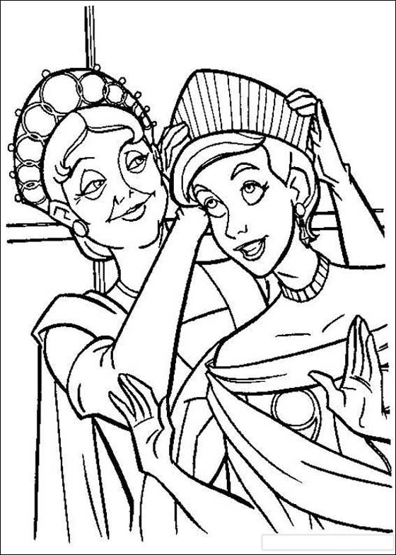 free coloring pages anastasia - photo#2