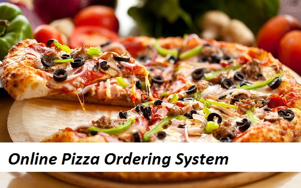 Online Pizza Ordering System Project For Final Year