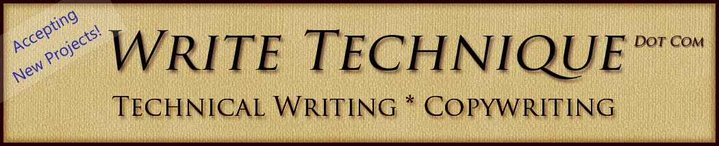 Write Technique:  Technical Writing and Copywriting by Mark R. Thiel