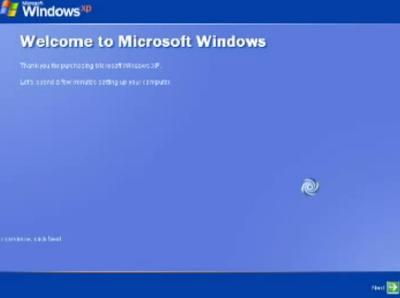 cara instal windows xp