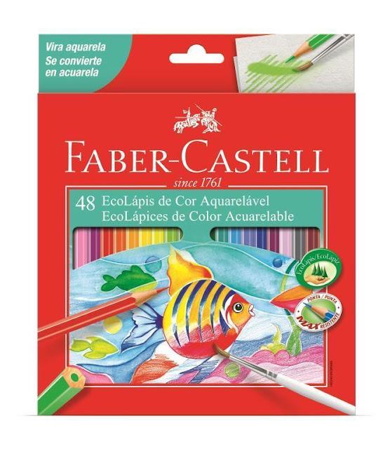 Faber Castell ECOLÁPIS DE COR AQUARELÁVEL