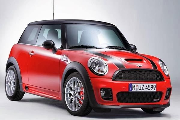 Red BMW Mini Cooper