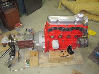 Volvo B20B engine ready for the transplant