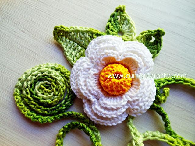 flores em croche 5 volumes com Edinir-Croche dvd video-aulas blog loja frete gratis