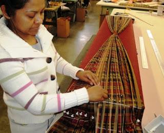 pleated valance, expert custom workroom, Wesco Fabrics