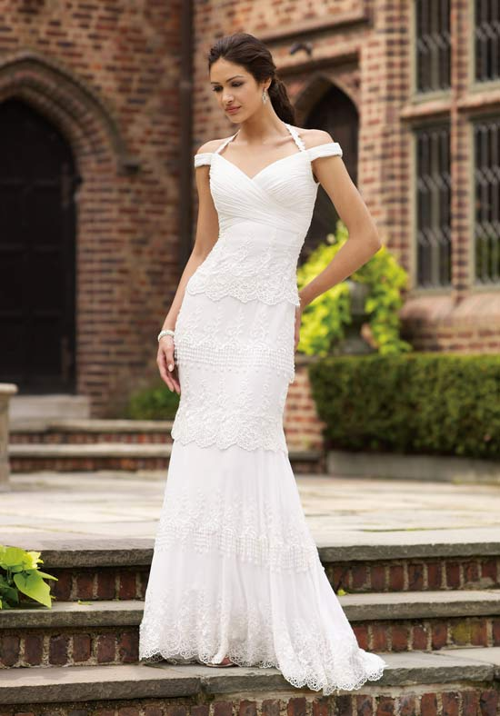 How to wear wedding dress will be more elegant | The Hairs