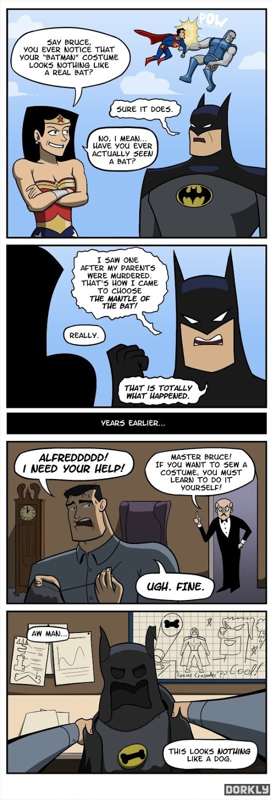 Now We All Now How Batman Was Created