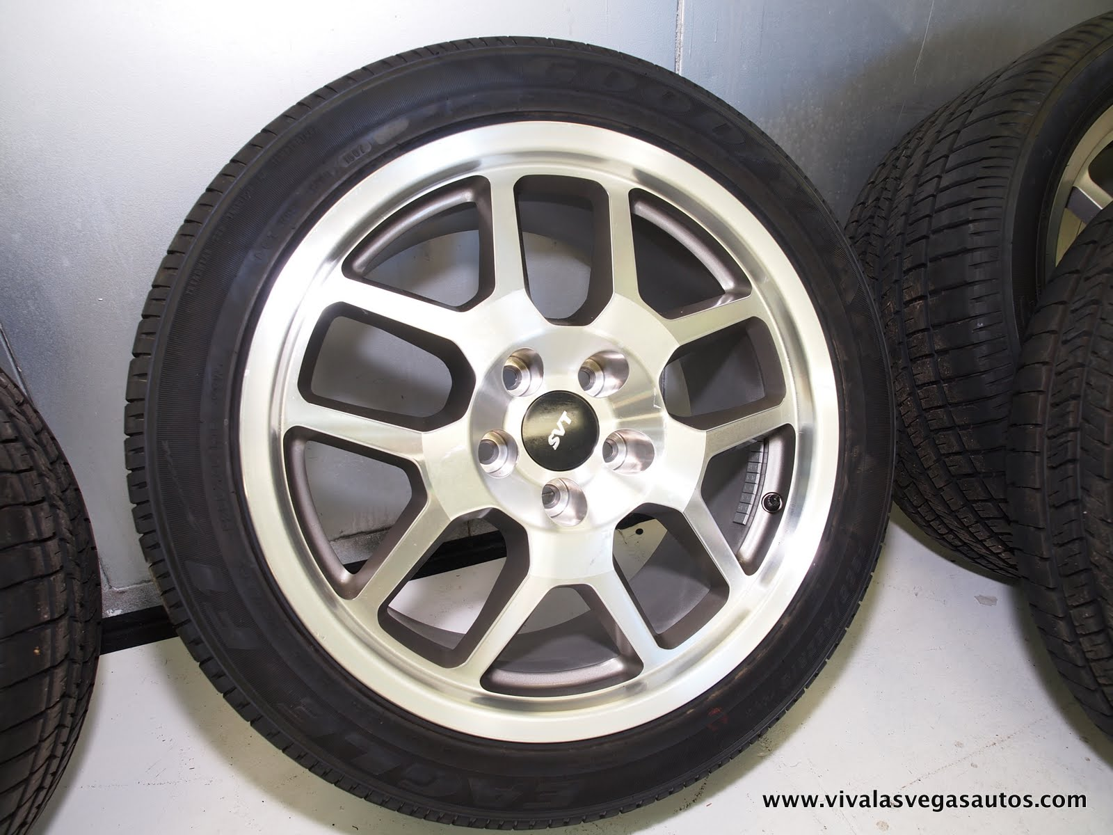 For Sale: SVT MUSTANG WHEELS and TIRES