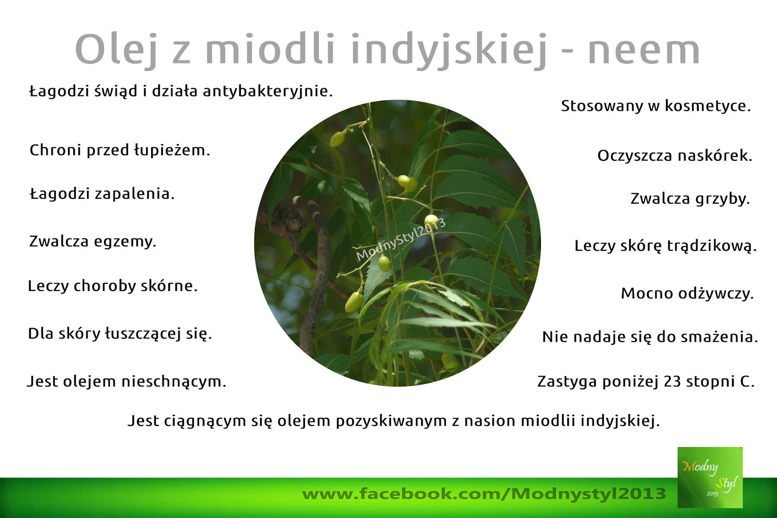 Olej z miodli indyjskiej - olej neem