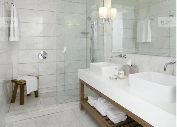 White Carrara Marble Frog Hill Designs Blog