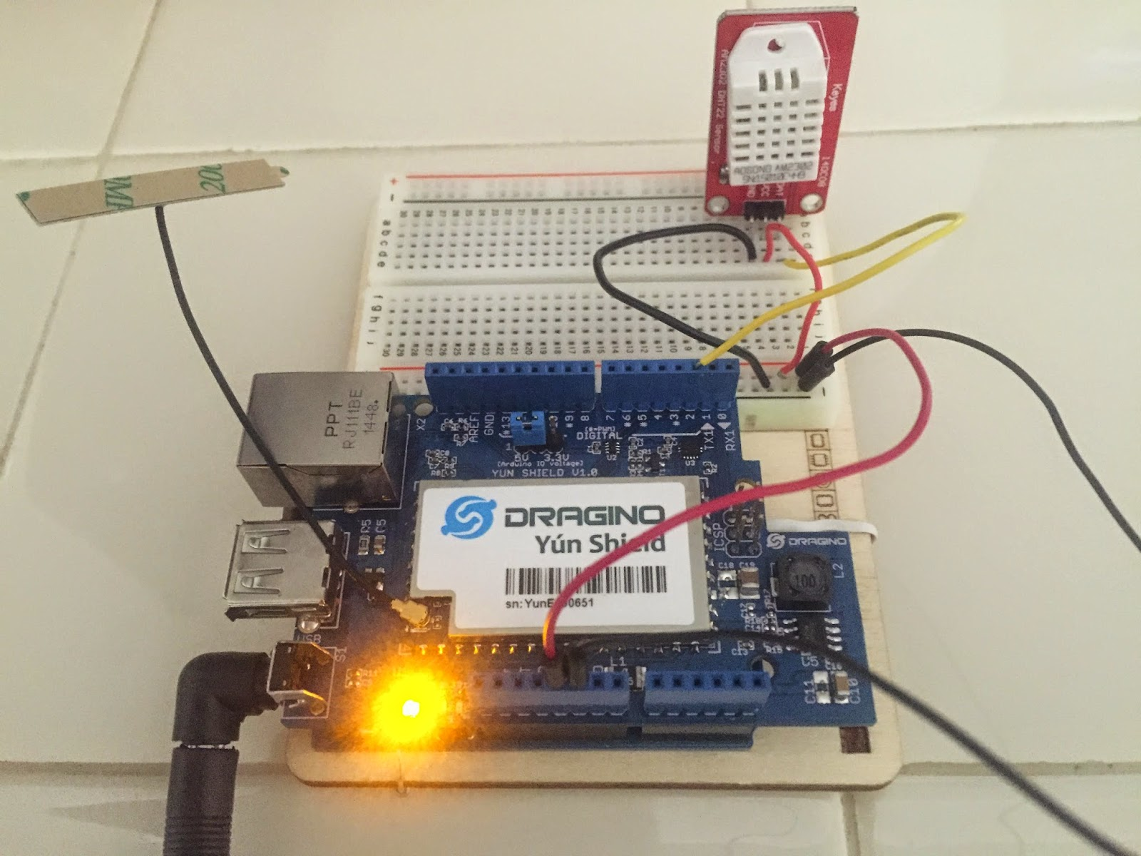Arduino maker first experiment digital temperature and