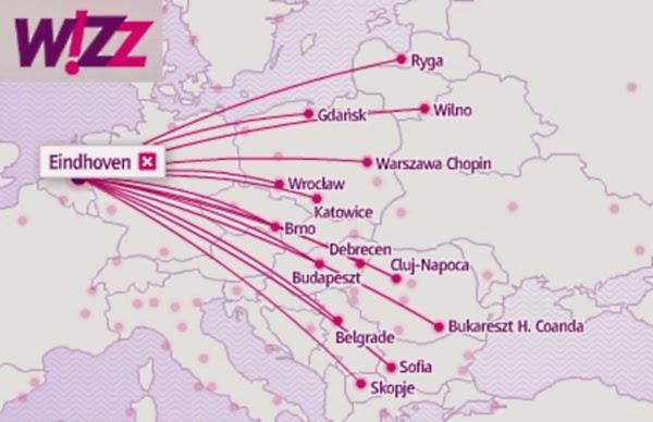 Eindhoven Wizz Air