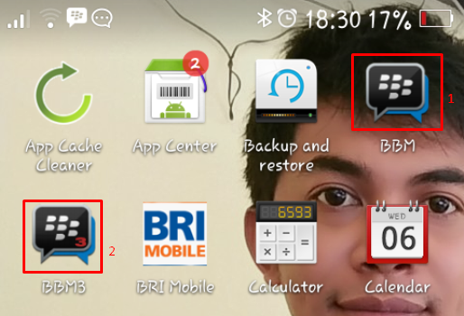 How To Add Two or More BBM applications on Android