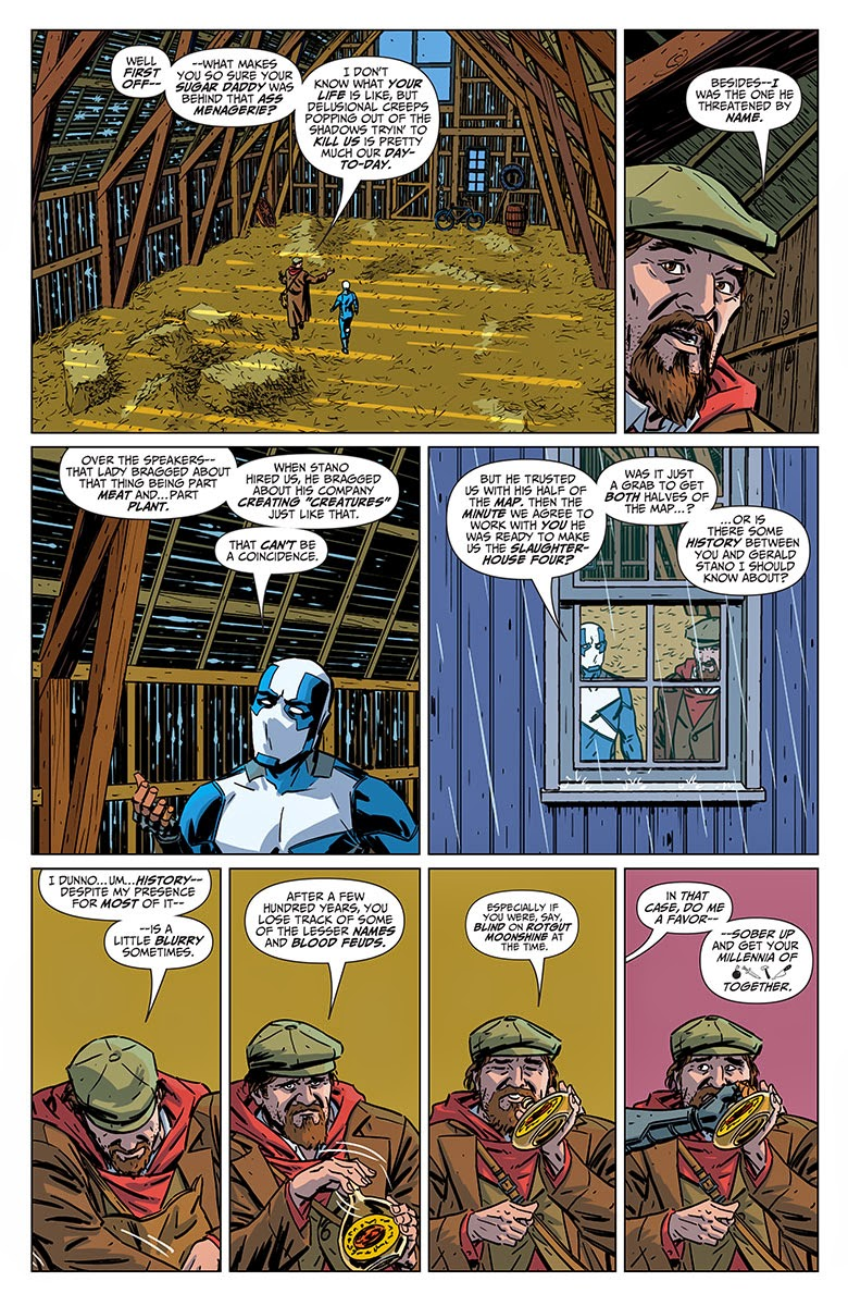 Valiant Delinquents 3 Preview by Asmus, van Lent and Kano