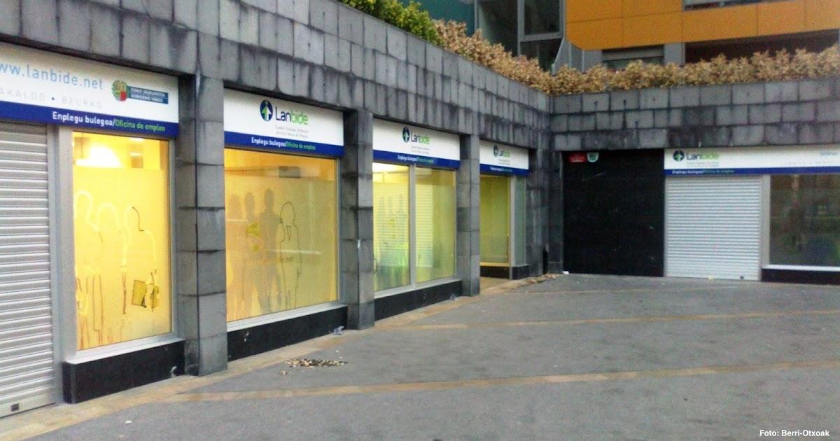 Barakaldo digital gobierno vasco cierra la oficina del for Oficina del paro murcia