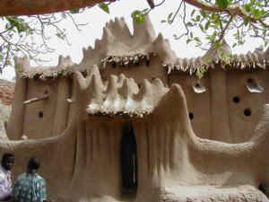masjid afrika dibuat jin