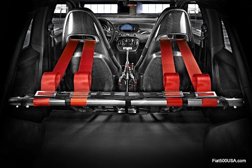 Abarth 695 biposto roll bar