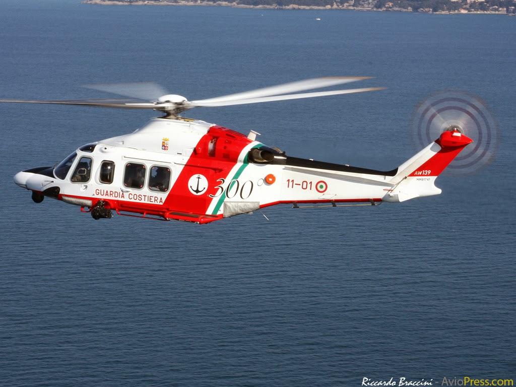 Guardia Costiera – elicottero salva naufraghi